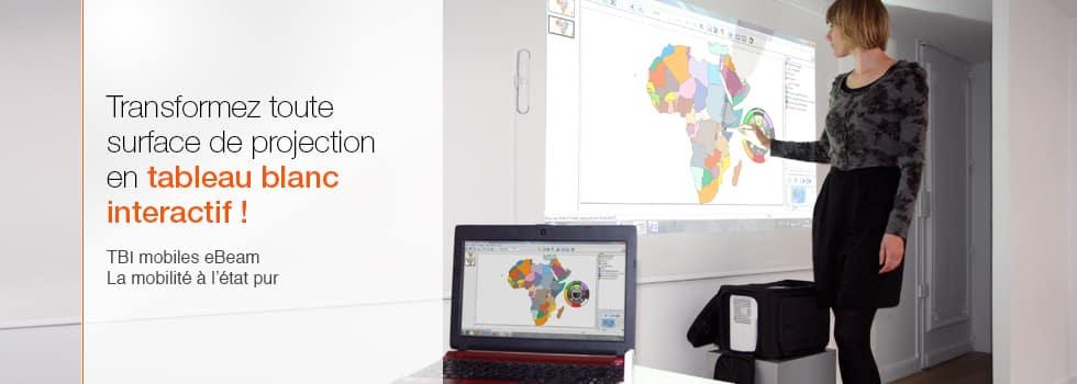 tableau blanc interactif pour école